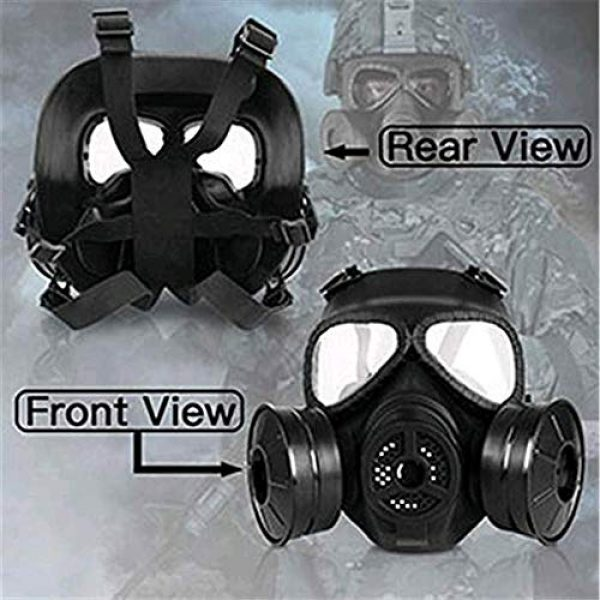 GYMTOP Airsoft Mask 3 M04 Airsoft Tactical Protective Mask