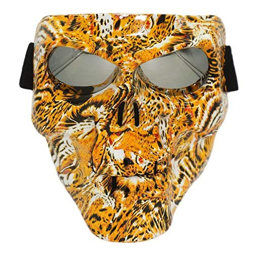 Lawnite Airsoft Mask 1 Lawnite Skull Airsoft MaskFull Face Protective Paintball MasksAirsoft Tactical Mask for Outdoor Cs Wargame