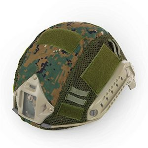 Kayheng Airsoft Helmet 1 Kayheng Tactical Military Combat Fast Helmet Camouflage Cover for MH/PJ Type Fast Helmet Airsoft Paintball Hunting Shooting Gear