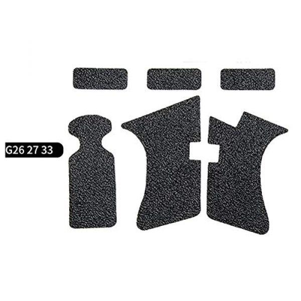 FIRECLUB  1 FIRECLUB 2 Set Non-Slip Rubber Texture Grip Wrap Tape Glove for Glock 17 19 20 21 22 25 26 27 32 33 38 43 Holster 9mm Pistol Accessories
