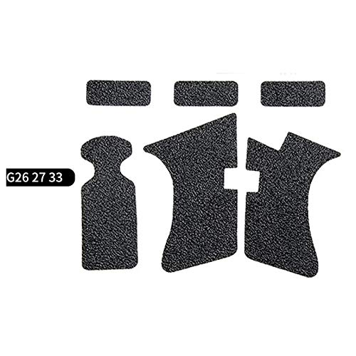 FIRECLUB  1 FIRECLUB 2 Set Non-Slip Rubber Texture Grip Wrap Tape Glove for Glock 17 19 20 21 22 25 26 27 32 33 38 43 Holster 9mm Pistol Accessories