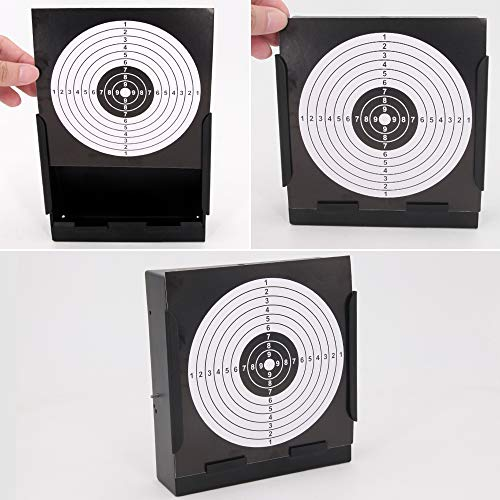 Outdoor Indoor Pellet Trap with 20 Pcs Paper Targets