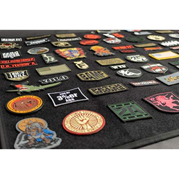 BASTION Airsoft Patch 5 BASTION Morale Patches (Whiskey Tango Foxtrot, Tan) | 3D Embroidered Patches with Hook & Loop Fastener Backing | Well-Made Clean Stitching, Military Patches for Tactical Bag, Hats & Vest