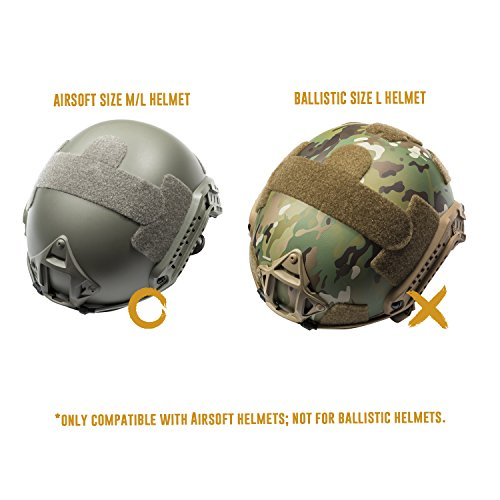 OneTigris Airsoft Helmet 3 OneTigris Multicam Helmet Cover - No Helmet