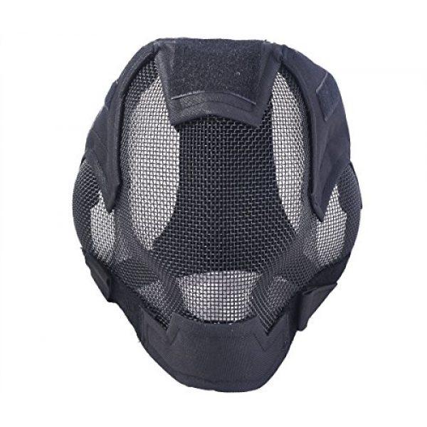 Outgeek Airsoft Mask 2 Outgeek Airsoft Mask Full Face Mask War Game Steel Mesh Protective Mask