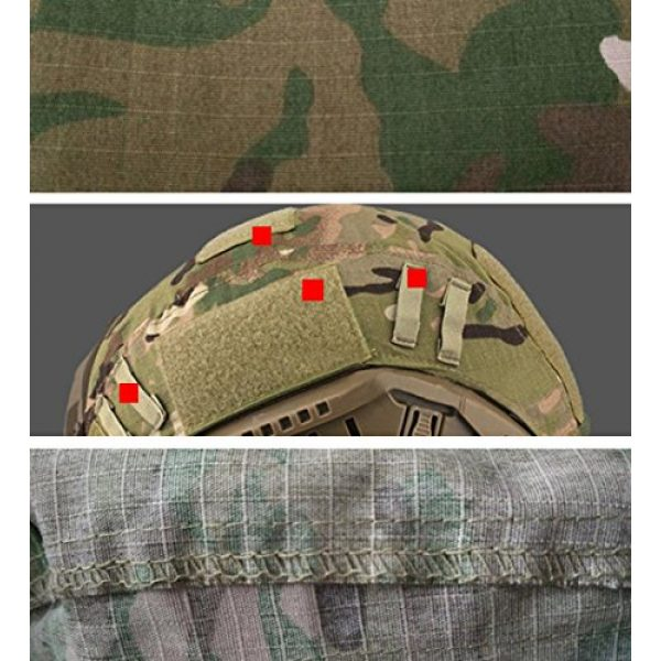 Airsoft Paintball Hunting Shooting Gear Fast Helmet Cover