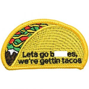Tactical Gear Junkie Airsoft Patch 1 Let's Go