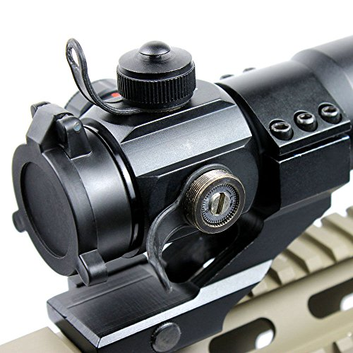 360 Tactical Airsoft Gun Sight 5 Tactical Scope Reflex Stinger 4 MOA Red - Green Dot Sight With Picatinny Mount