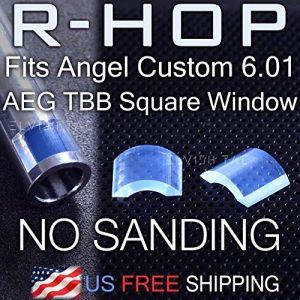 Elvish Tac Airsoft Barrel 1 Elvish Tac RHOP Fit Angle Custom 6.01 AEG TBB Square Window Airsoft Barrel NO Sanding R-Hop