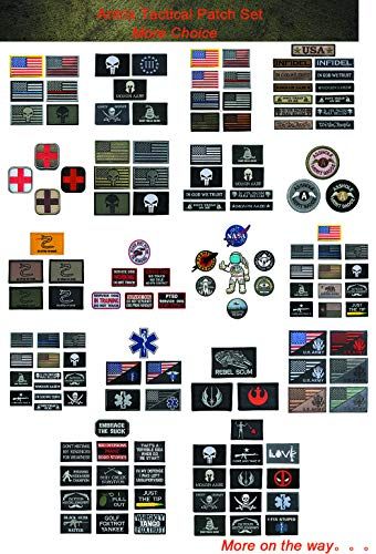 TOWEE Airsoft Patch 3 US Flag Patches