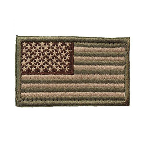CREATRILL Airsoft Patch 4 Bundle 6 Pieces Tactical Military Morale Patch Set (A)