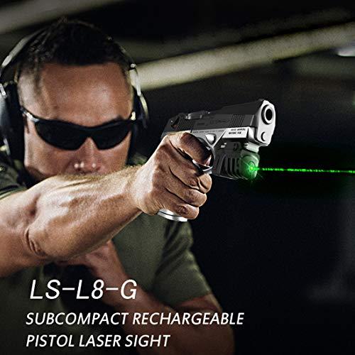 JDAMALEYWO Airsoft Gun Sight 6 JDAMALEYWO Tactical Laser Sight for Pistol Rifle Handguns
