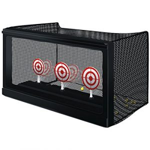 WellFire Airsoft Target 1 Dual use Airsoft Competition Target - Mechanical Auto-Reset target or Paper Target