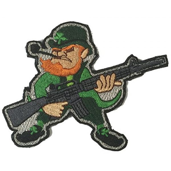 Gadsden and Culpeper Airsoft Patch 1 Evil Leprechaun AR-15 Tactical Morale Patch