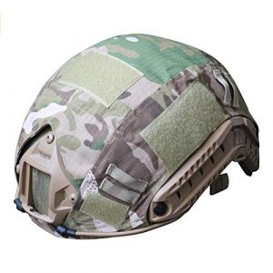 H World Shopping Airsoft Helmet 1 H World Shopping Outdoor Airsoft Paintball Tactical Military Gear Combat Fast Helmet Cover Multicam MC