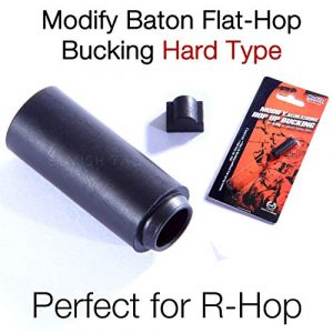 MODIFY Airsoft Barrel 1 MODIFY Baton Flat Hopup Bucking Flathop Flat-Hop Hard Type for R-Hop RHop