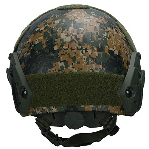 Adjustable Fast MH Bump Protective Gear for Airsoft Paintball with 12-in-1 Face Mask