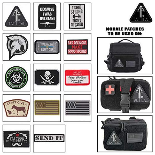 """14er Tactical Airsoft Morale Patch 6 14er Tactical Morale Patches (14-Pack) 