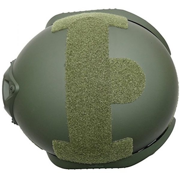 H World Shopping Airsoft Helmet 4 H World Shopping MICH 2002 Combat Protective Helmet with Side Rail & NVG Mount for Airsoft Tactical Military Paintball Hunting