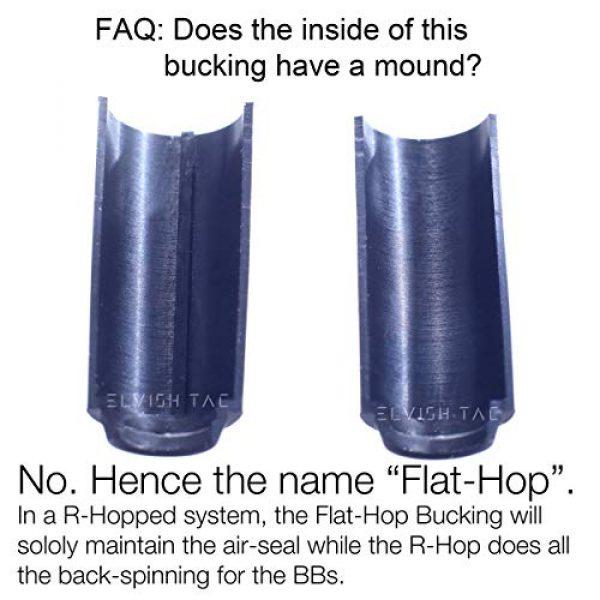 MODIFY Airsoft Barrel 4 MODIFY Baton Flat Hopup Bucking Flathop Flat-Hop Hard Type for R-Hop RHop