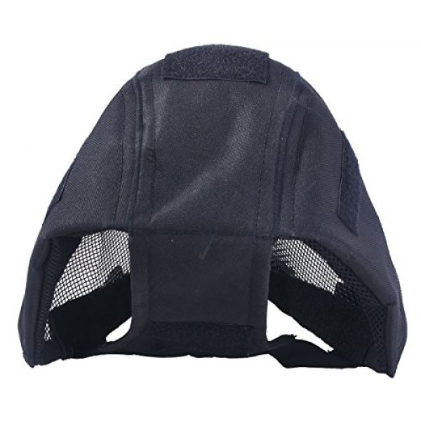Outgeek Airsoft Mask 5 Outgeek Airsoft Mask Full Face Mask War Game Steel Mesh Protective Mask