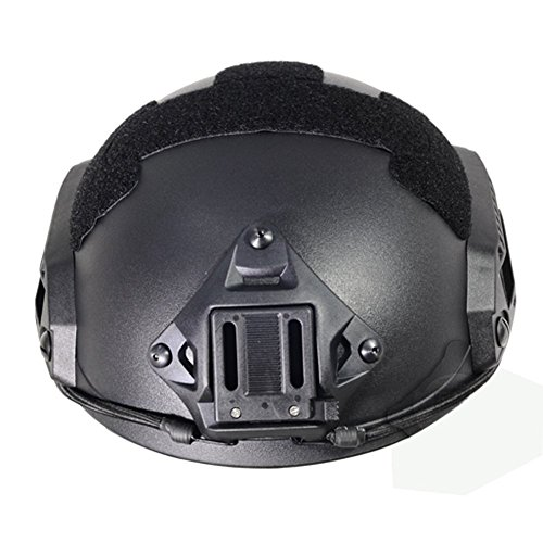 Optional life Airsoft Helmet 4 Optional life Black Free Size Tactical ABS Airsoft CS Paintball Security Helmet