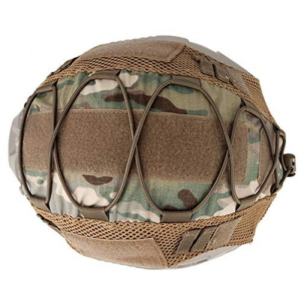 LANZON Airsoft Helmet 5 LANZON Tactical Multicam Helmet Cover for Fast Style Helmets (The Helmet is NOT Included)