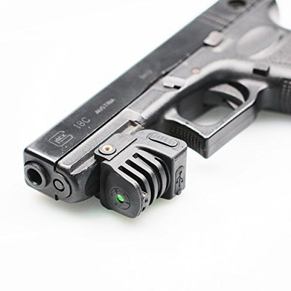 Red Iron Tactical Airsoft Gun Sight 6 Red Iron Tactical Green Dot Laser Sight for Handguns Rifle Pistol