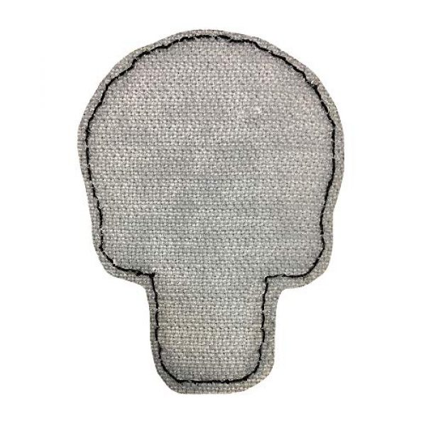Morton Home Airsoft Patch 5 Morton Home 3D PVC Punisher Skull Army Morale MILSPEC Airsoft Tactical Patch (red)