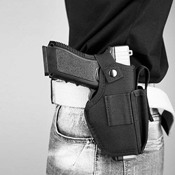 LIVIQILY  6 LIVIQILY Right or Left Handed Concealed Carry Gun Holster for Glock 17 19 22 23 43 P226 P229 Ruger Beretta 92 M92 s&w Pistols