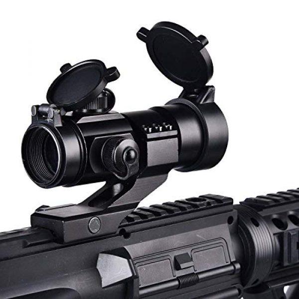 CVLIFE Airsoft Gun Sight 3 CVLIFE Tactical Gun Sight Red Green Dot Scope Reflex Sight for 20mm Cantilever Mount