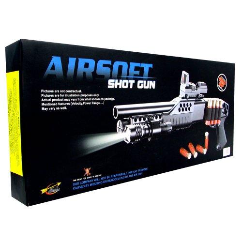 TM GLOBAL  4 airsoft m180a2 pump action shot gun with light(Airsoft Gun)
