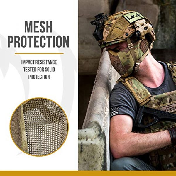 Military Tactical Lower Face Protective Mask