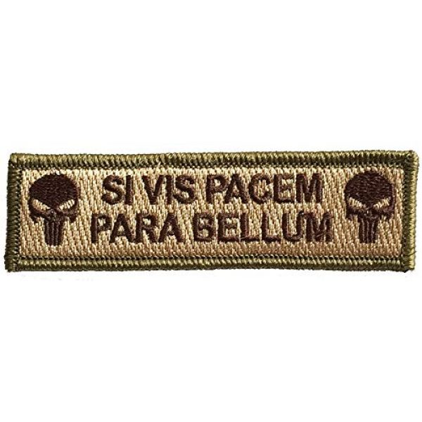 Gadsden and Culpeper Airsoft Patch 1 Tactical Patch - If You Want Peace, Prepare for war - Multitan