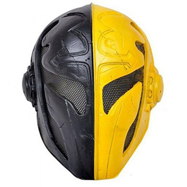 Eternal Heart Airsoft Mask 1 WT808 Cool Knights Templar Protective Wire Mesh Mask for Airsoft Paintball Display