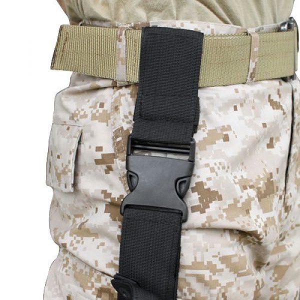 LIVEBOX  4 LIVEBOX Military Tactical Drop Leg Thigh Gun Holster Bag Adjustable Right Leg Handgun Holster Pouch for Airsoft Paintball Hunting Gun Training