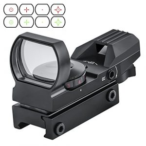 OTW Airsoft Gun Sight 1 OTW Electro DOT Sight Field Sport Red and Green Reflex Sight with 4 Reticles