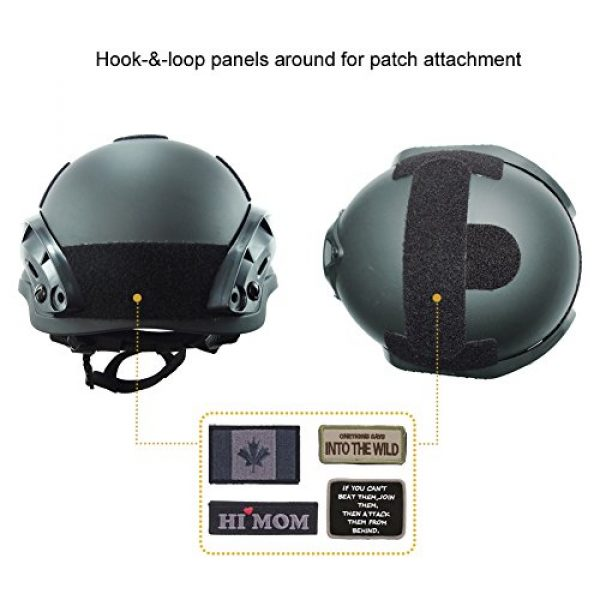 OneTigris Airsoft Helmet 5 OneTigris MICH 2002 Action Version Tactical Helmet ABS Helmet for Airsoft Paintball