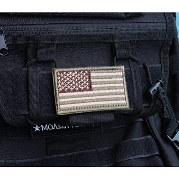 CREATRILL Airsoft Patch 5 Bundle 6 Pieces Tactical Military Morale Patch Set (A)