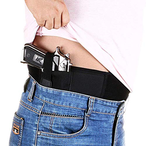 DMAIP  6 DMAIP IWB Belly Band Holster for Concealed Carry Fits Gun Glock P238 Ruger LCP and Similar Sized Guns