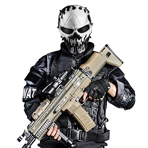 Audoc Airsoft Mask 2 Airsoft Mask Full Face