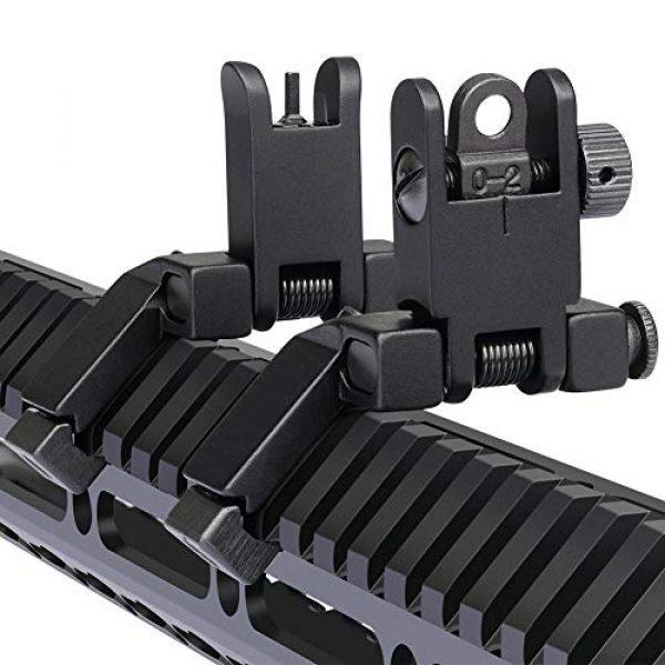 Marmot Airsoft Gun Sight 1 Marmot 45 Degree Offset Flip Up Sight Low Profile Rapid Transition Front & Rear Iron Sights