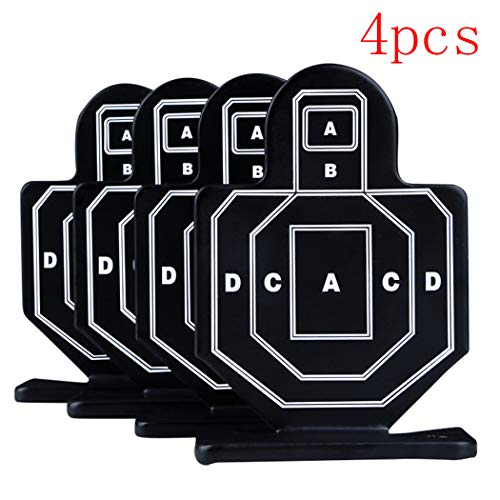 Aoutacc Airsoft Target 1 Aoutacc 4 Pcs Steel Brave Warrior Targets