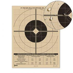 """Rite In The Rain Airsoft Target 1 Rite in the Rain Weatherproof 8.5"""" x 11"""" Multipurpose / Universal / Sniper Tan Targets"""