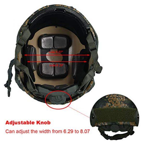 LOOGU Airsoft Helmet 2 LOOGU Tactical Helmet