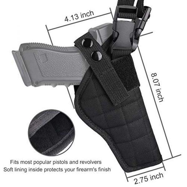 XAegis  6 XAegis Shoulder Holster General Vertical Gun Holster Adjustable for Most Kinds of Pistols