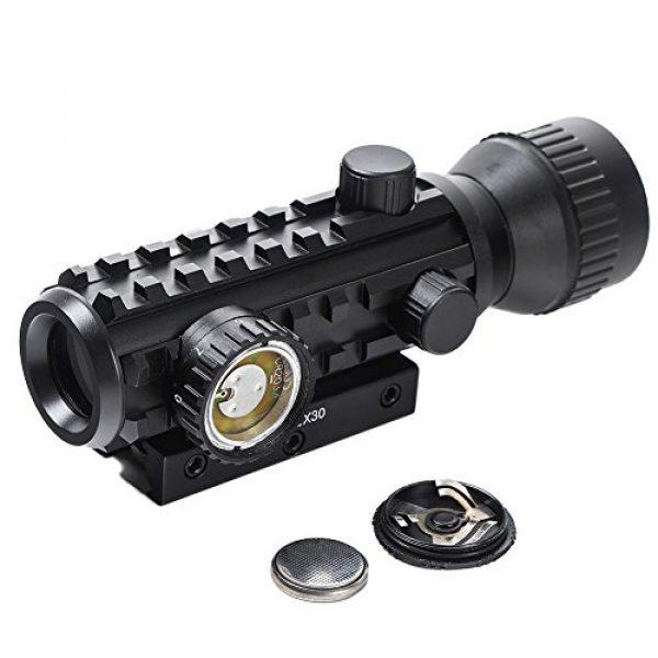 Beileshi Airsoft Gun Sight 6 Beileshi 1X/2X Red Illuminated Tactical Dot Sight
