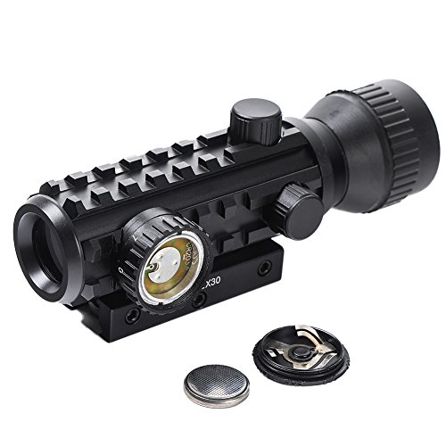 Beileshi Airsoft Gun Sight 6 Beileshi 1X/2X Red Illuminated Tactical Dot Sight
