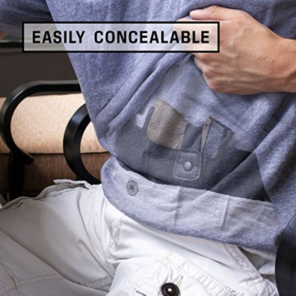 Ghost Concealment  5 Ghost Concealment Belly Band Holster for Concealed Carry   IWB Gun Holsters   Men and Women