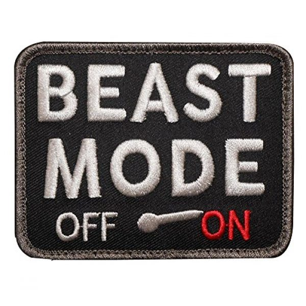Kaben Airsoft Morale Patch 1 Kaben Beast Mode on Military Tactical Combat Badge Swat Patch ,1 PCS